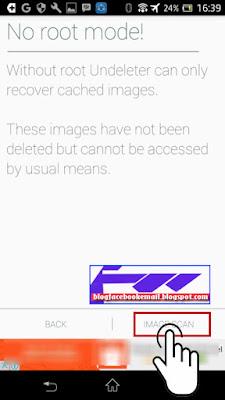 cara mengembalikan file foto di smartphone