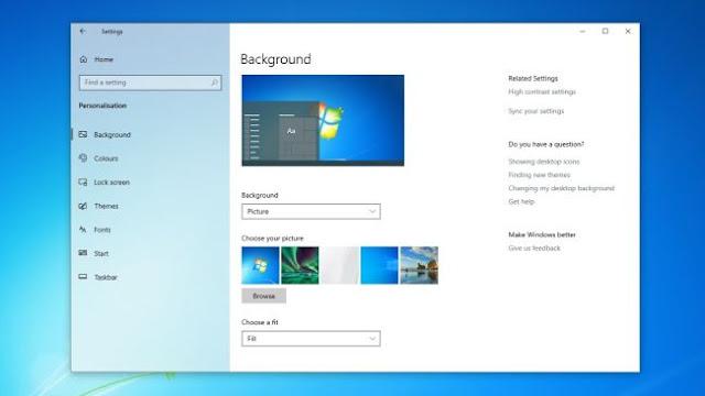 Ingin Windows 10 Anda Terlihat Seperti Windows 7,