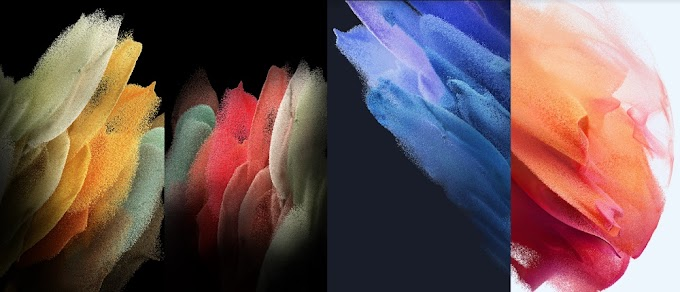 These are the new wallpapers of the Samsung galaxy s21