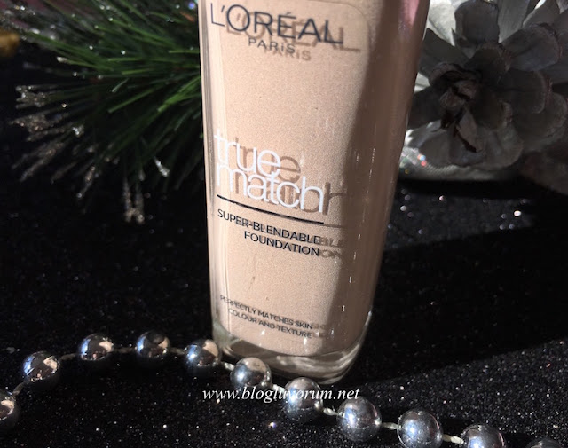 loreal true match 1r 1c rose ivory foundation