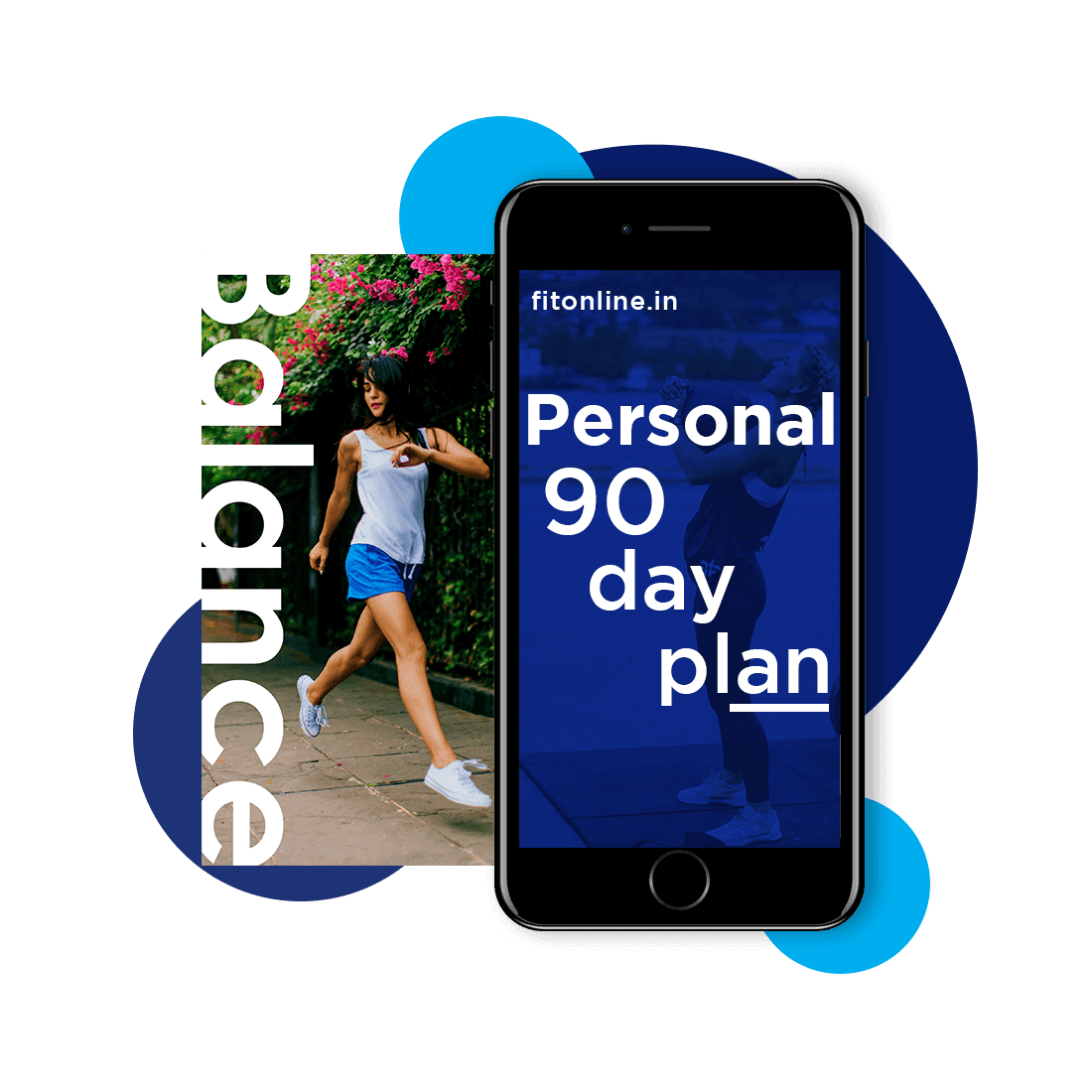 90 day phone fitness plan