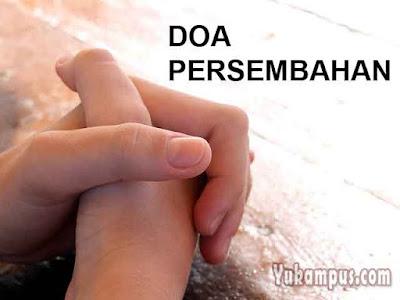 doa persembahan