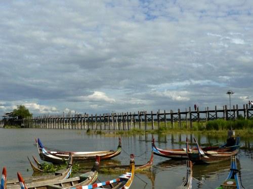 Puente de U Bein - guía de viaje de Myanmar
