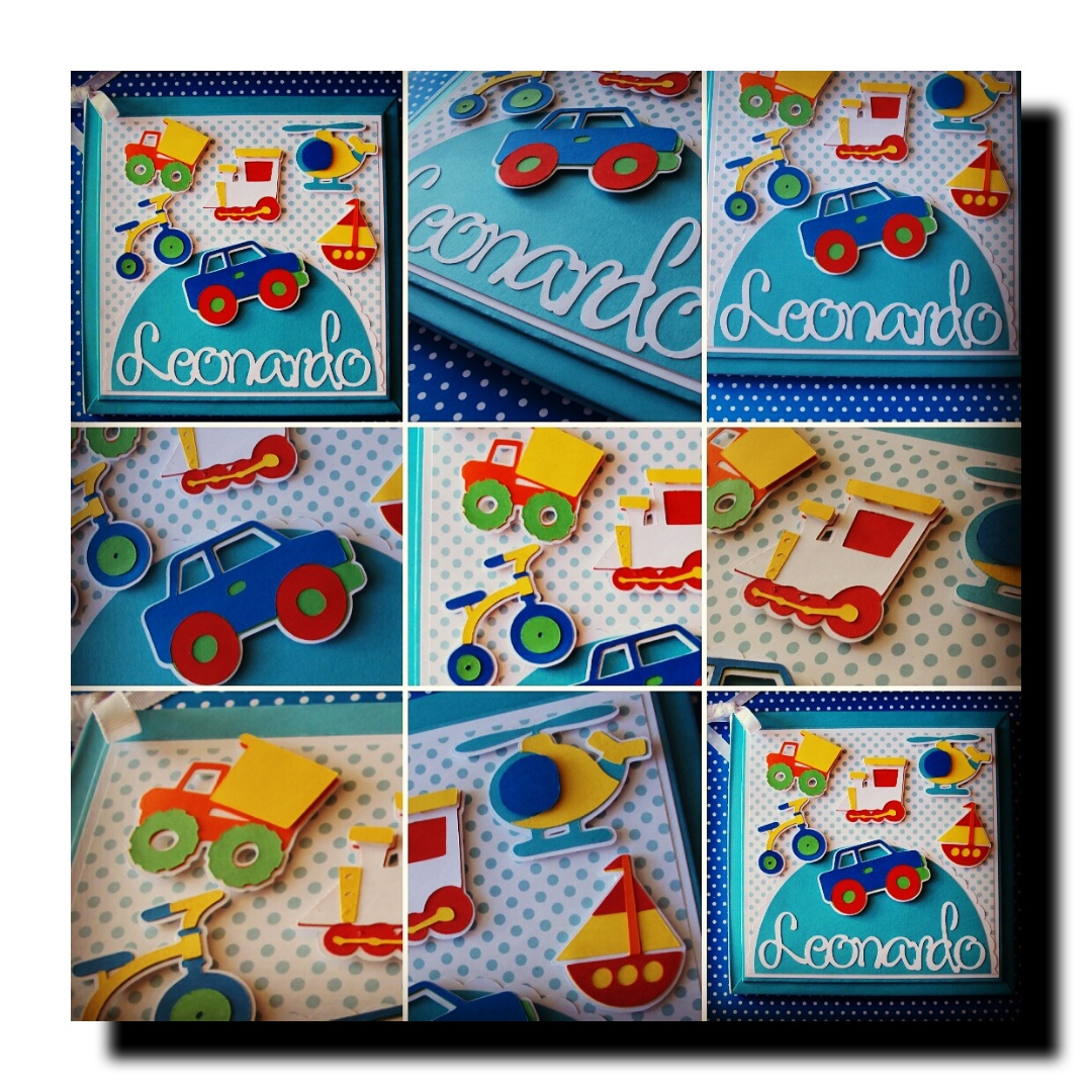d6511a621 Mais opções de Diário do Bebê personalizado para menino no tema. Brinquedos