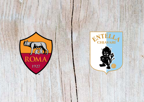 Roma vs Virtus Entella Full Match & Highlights 14 January 2019
