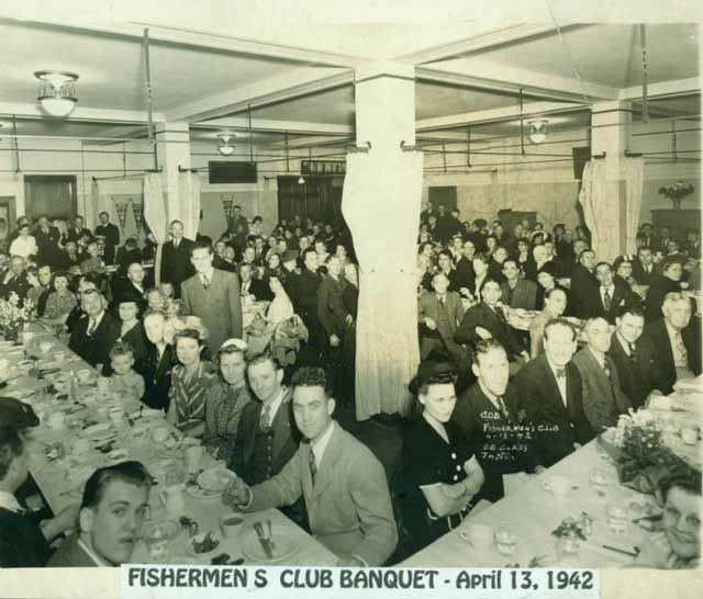 Fisherman's Club Banquet held on 13 April 1942 at Biola University worldwartwo.filminspector.com