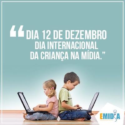 Resultado de imagem para Dia Internacional da Criança na Mídia
