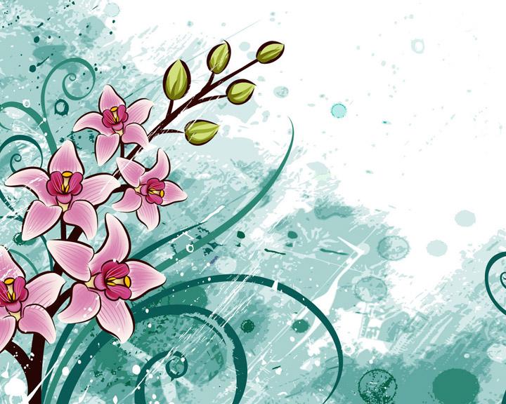 3d çiçek resimleri
