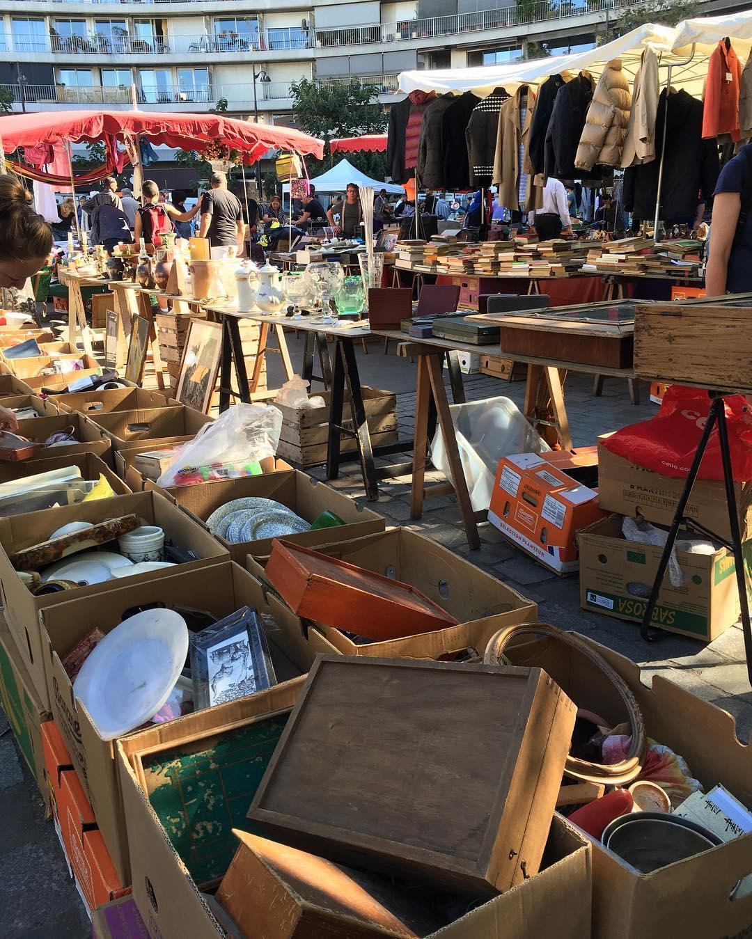 Pasar Paris Le Marché d'Aligre