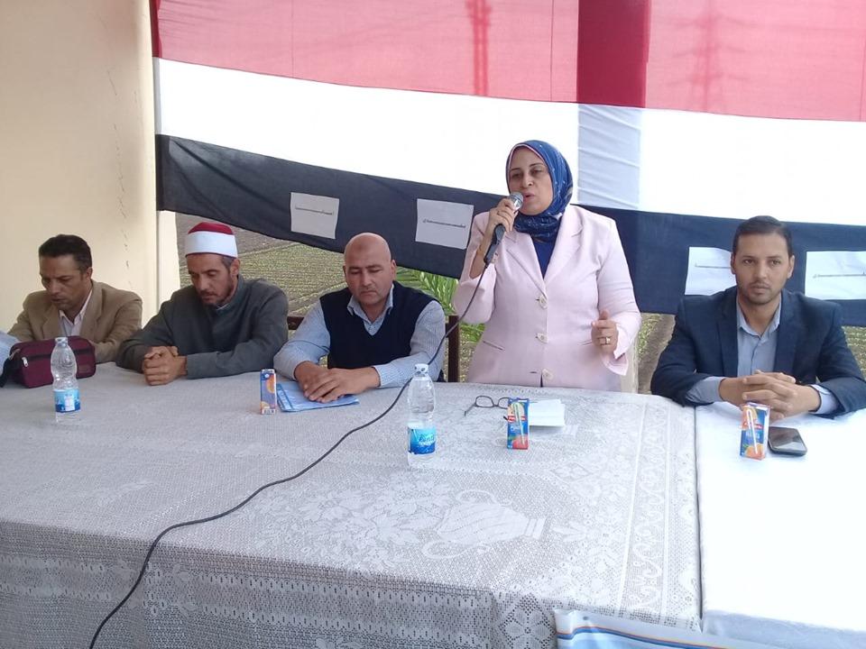 """التصدي للإشاعات المغرضة""""، ندوات بحملة بلدي أمانة بمركزي أبو حمص وشبراخيت ."""