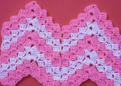 6 - Crochet Imagen Puntada zig zag a crochet en relieve Majovel Crochet