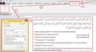 Aplikasi Quran in Word Ver.2.2