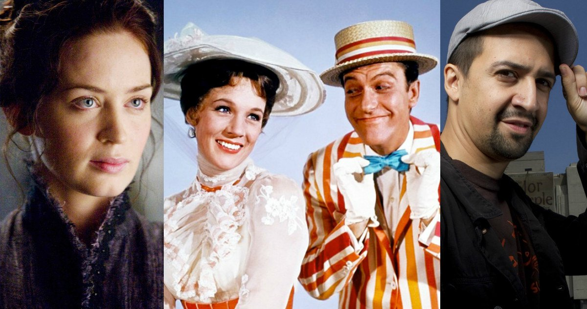 Mary Poppins Returns  - reparto