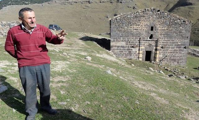 Ο Τούρκος βοσκός που προστατεύει Ελληνική εκκλησία στην Κερασούντα