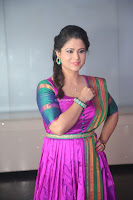Shilpa Chakravarthy in Purple tight Ethnic Dress ~  Exclusive Celebrities Galleries 031.JPG