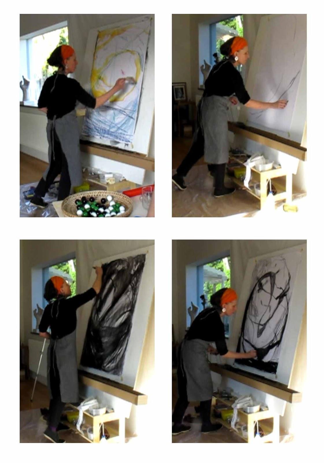 Performances musique peinture