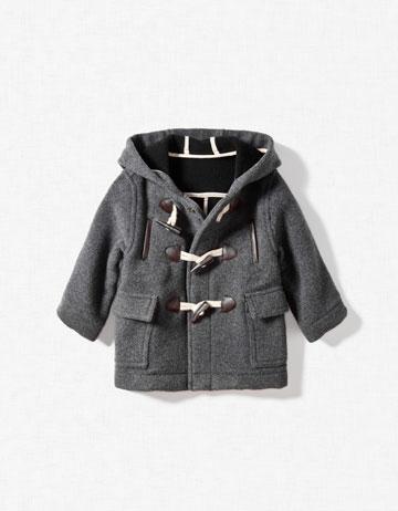 He Bangs The Drum Zara Baby Aw11 Winter Coats Win Hands