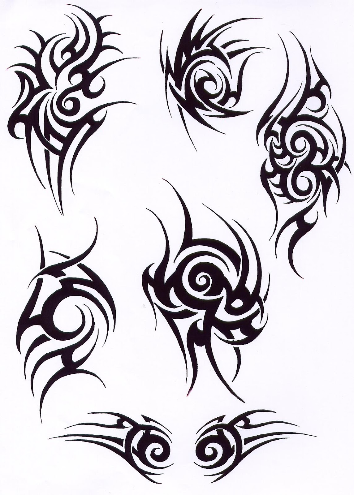 Think, Tribal tattoo designs consider