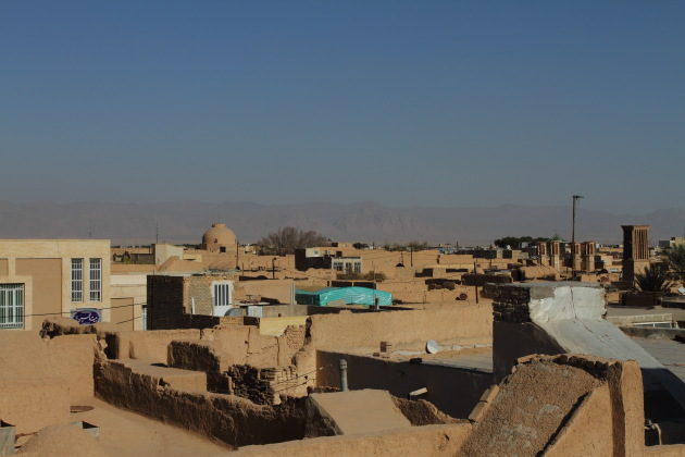 A yazd rooftop view