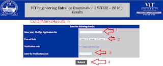 VITEEE Result 2016 Declared
