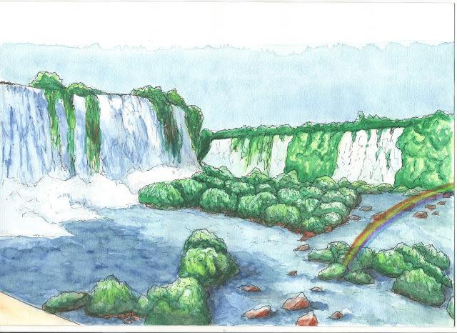 Cataratas do Iguaçu - Vista lado brasileiro