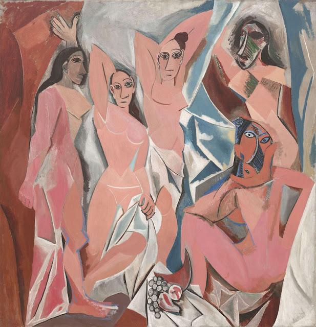 Les Demoiselles d'Avignon - piccaso
