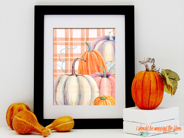 Autumn Harvest Printables
