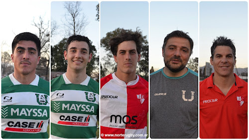 Gastón Frey, Leonardo Gea, Damián Huber, Arturo Mimessi y Francisco Saravia Toledo