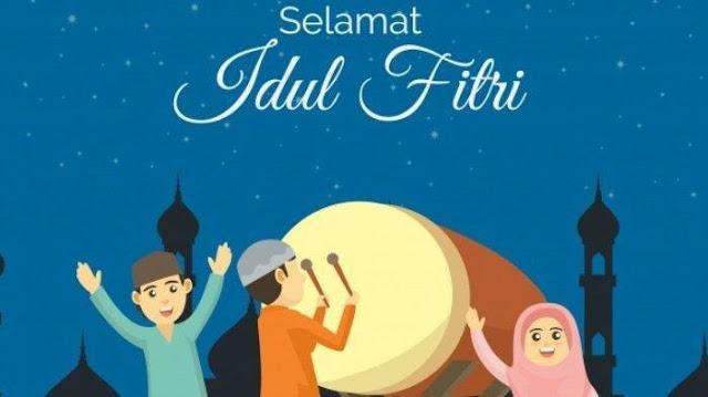 30 Kumpulan Ucapan Selamat Idul Fitri 1441 H, Bahasa Indonesia & Inggris, Cocok Dibagikan ke Sosmed
