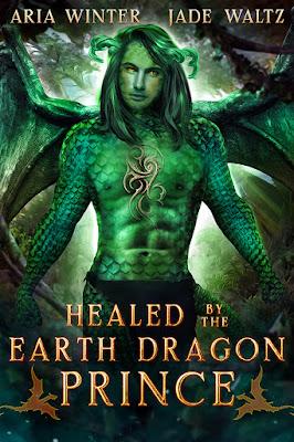 {Giveaway} Healed by the Dragon Prince by @winter_aria @authorjadewaltz @RockstarBkTours
