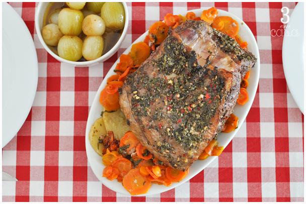 receita de carne com chimichurri