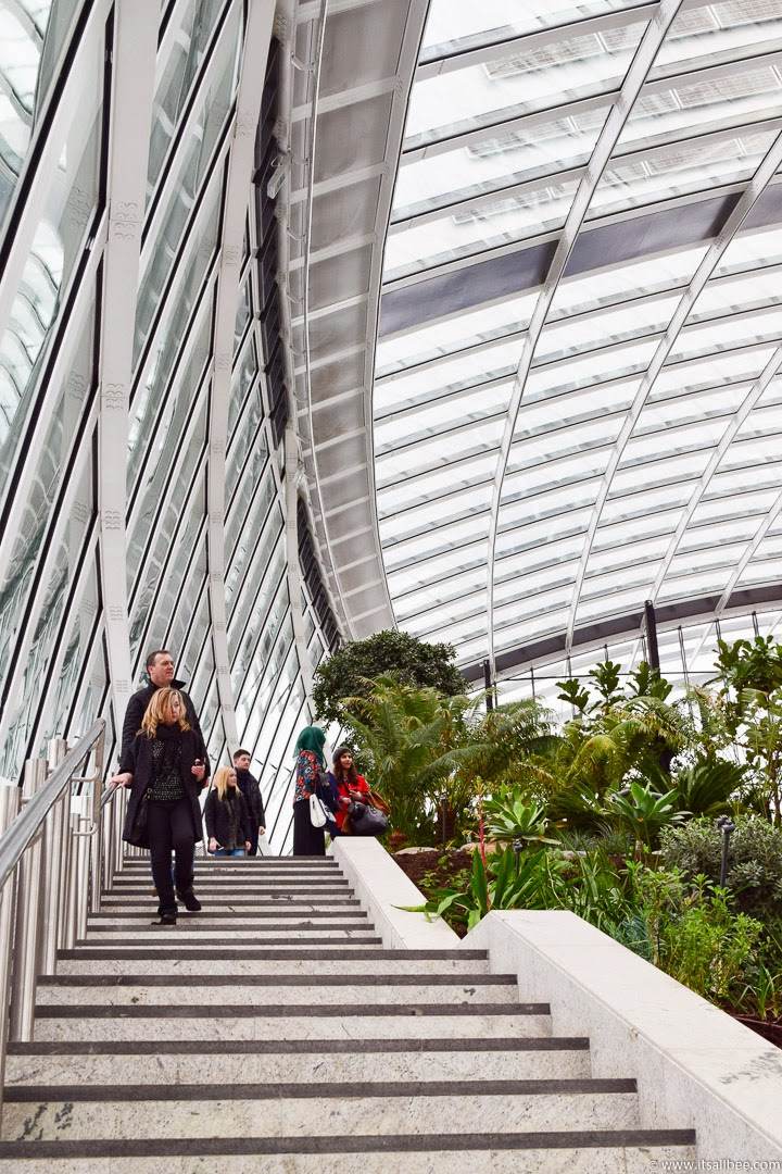 London Rooftop Garden | Breakfast In London's Sky Pod | Fenchurch Street Walkie Talkie