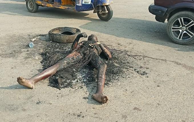 Three thieves burnt to death in Calabar
