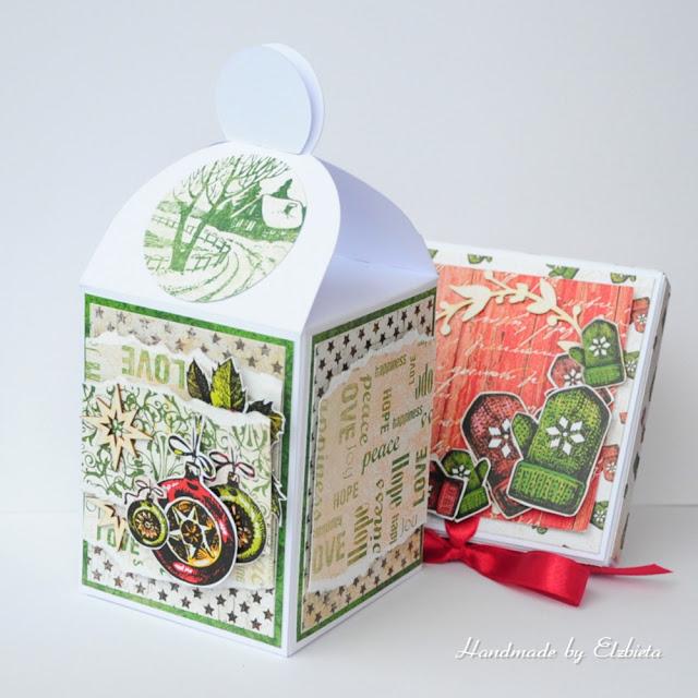 Pudełeczka na słodkie prezenty – inspiracja dla Białe Kruczki