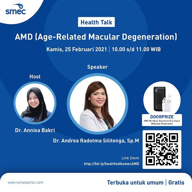 "Health Talk  ""Age-Related Macular Degeneration"""