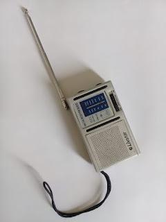 Rádio FM com antena externa