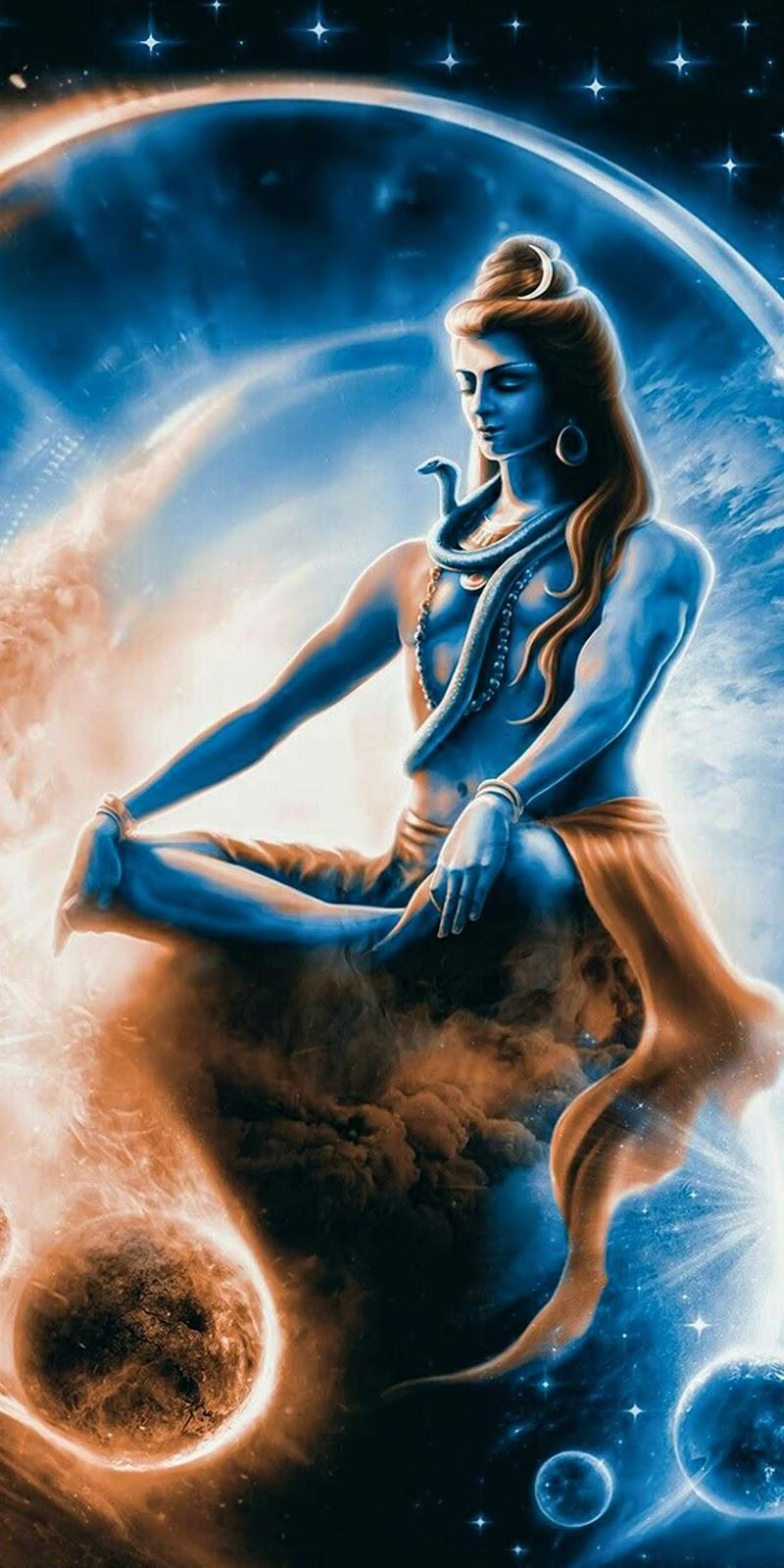Lord Shiva in Tapas