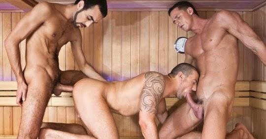 Gay Threesome Video 8