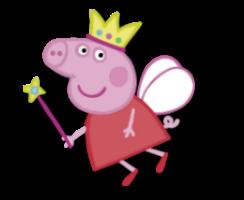 Peppa Pig de fada