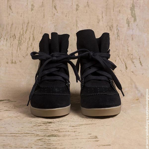 Zapatillas 2016 Rapsodia, Moda invierno 2016.