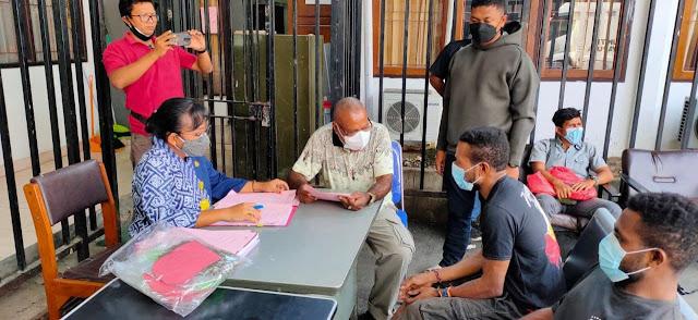 Polresta Jayapura Serahkan Warga PNG Kasus Nakotika Ancaman Seumur Hidup ke JPU