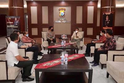 Jalin Silaturahmi Keberagaman, Polda Jatim Terima Audensi PGI Jatim