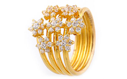 4a5b2778943 Stylish Jewellery: Indian Gold Rings Designs For Girls