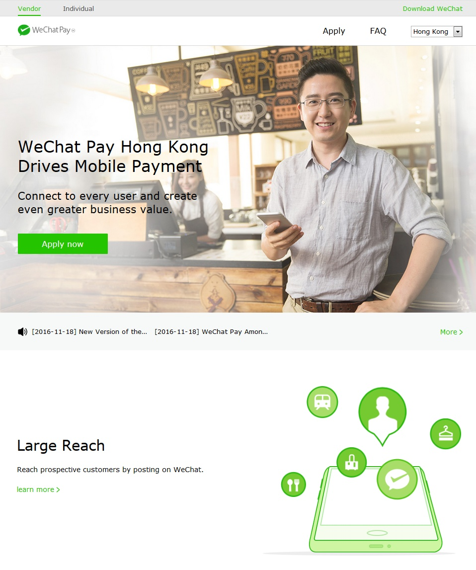 WeChat Pay bookmakers
