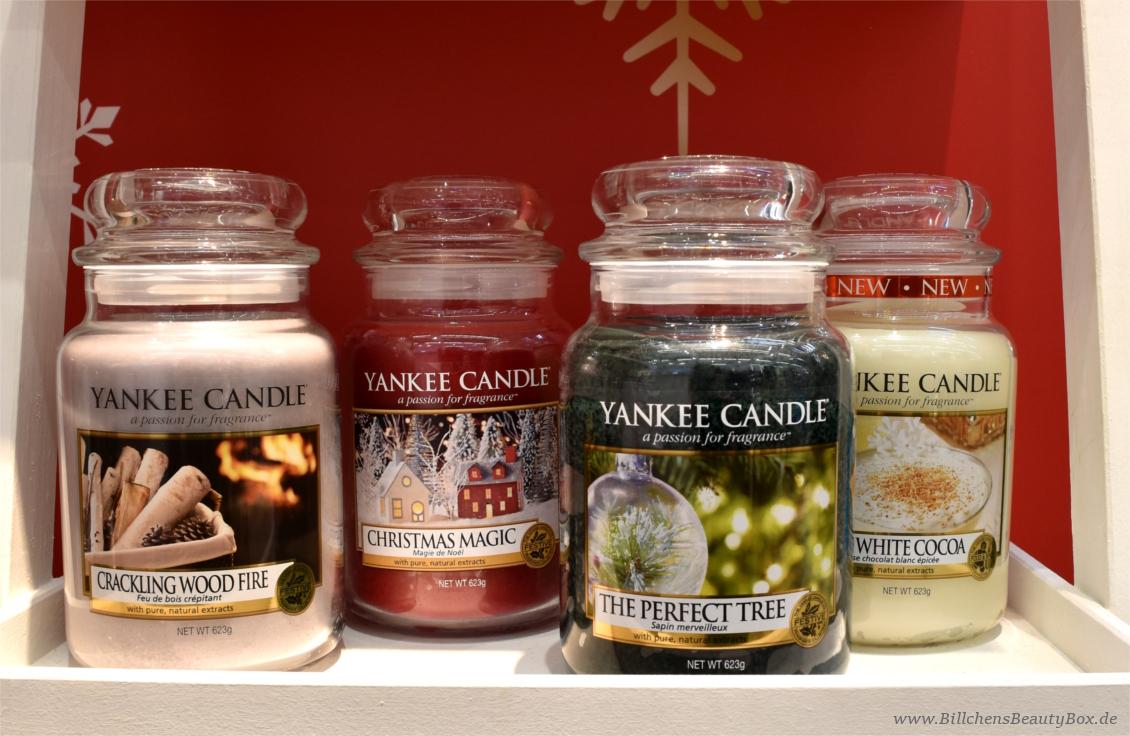 Yankee Candle - The Perfect Christmas Kollektion, Düfte und Duftbeschreibungen