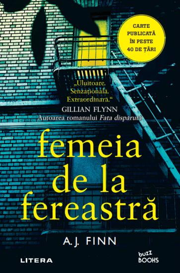 [Recenzie]  Femeia de la fereastra - A.J.Finn