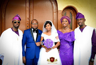 Orezi's sister weds Journalist in Lagos