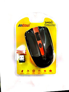 mouse wireless senza fili andowl