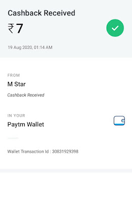 Work from Home Payment Proof