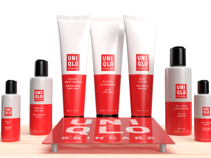 UNIQLO Beauty Products